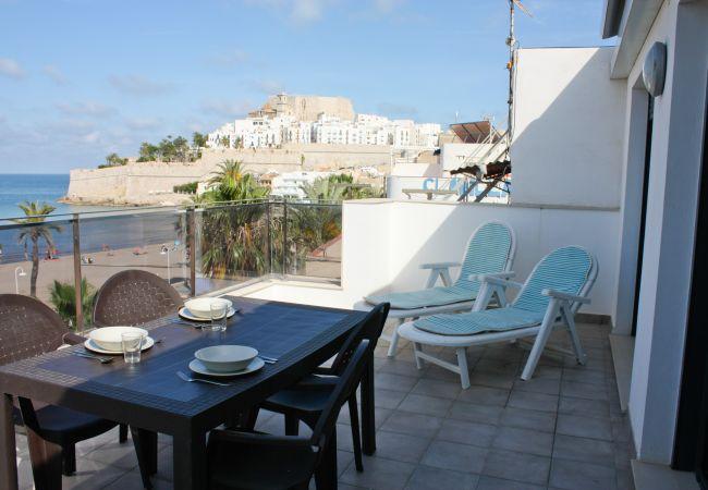 Apartamento en Peñiscola - 407 - Ático Avda. del Mar